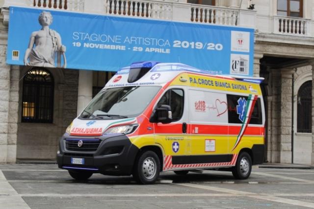 Ambulanza, Mezzi di trasporto Croce Bianca di Savona
