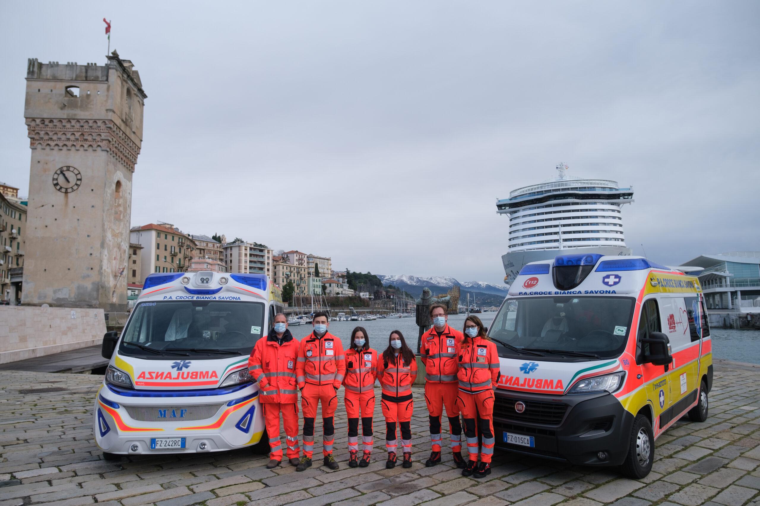 Staff Croce Bianca Savona